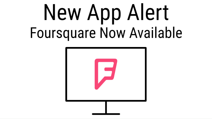 Try Foursquare on CloudShow Today